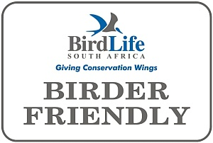BirdLife SA Birder Friendly Certificate